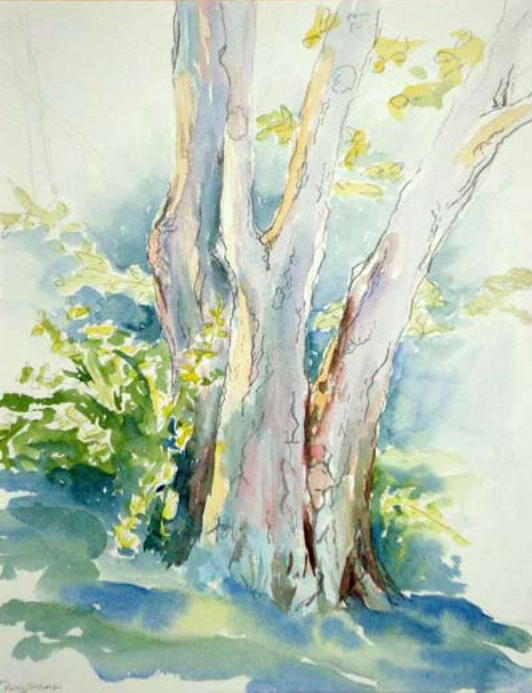 Patty Storms Work Includes Oil Watercolor Pencil Pen
