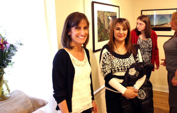 Patty Storms, Rockwell Gallery, New Canaan, CT with Saida Fikri